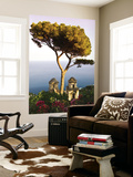 View from the 13th Century Villa Rufolo in Ravello, Amalfi Coast Prints by Glenn Beanland