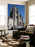 Fortified Gothic Cathedral Print by Bruce Bi
