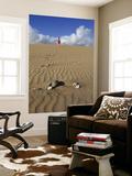 Woman Walking on Sand Dune in Maspalomas Dunes (Dunas De Maspalomas) Pósters por Ruth Eastham & Max Paoli