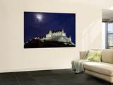 Edinburgh Castle at Night Prints by Sean Caffrey
