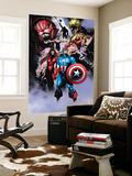 Avengers No.99 Annual: Captain America, Iron Man, Wasp and Avengers Print by Leonardo Manco