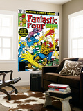 Fantastic Four No.218 Cover: Mr. Fantastic Poster van Frank Miller