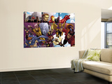 Avengers: The Initiative 8 Group: Sentry Prints by Stefano Caselli