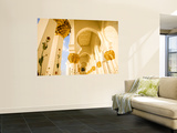 Exterior Archway of Sheikh Zayed Bin Sultan Al Nahyan Mosque Plakater af Rogers Gaess