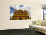 San Andres Xecul Church Front Facade Prints by Diego Lezama