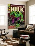 Marvel Comics Retro: The Incredible Hulk Comic Book Cover No.105 (aged) - Poster