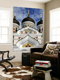 Facade of Saint Alexander Nevsky Cathedral Prints by Manfred Hofer