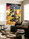 Nova No.34 Cover: Nova and Sphinx Print by Brandon Peterson