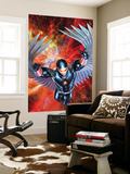 War Of Kings: Darkhawk No.1 Cover: Darkhawk Prints by Brandon Peterson