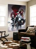 Secret Invasion No.6 Cover: Captain America, Thor and Iron Man Obrazy