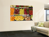 Fruit and Vegetables for Sale at Shop Poster by Karl Blackwell