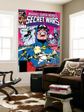 Secret Wars No.7 Cover: Captain America, Spider Woman, Doctor Octopus and Wolverine Prints by Mike Zeck