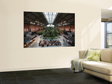 Tropical Garden and Cafe in Atocha Railway Station Print by Bruce Bi