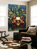 Avengers: The Initiative No.15 Cover: Iron Man, Ms. Marvel and Black Widow Posters by Mark Brooks