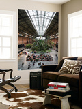Tropical Garden and Cafe in Atocha Railway Station Prints by Bruce Bi