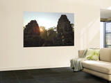 Female Tourist Photographer at Bayon Temple at Sunset Posters by Felix Hug