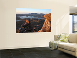 Inverpolly Nature Reserve and Suilven Mountain from Stac Pollaidh Mountain in Sutherland Print by Feargus Cooney