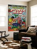 Marvel Comics Retro: Luke Cage, Hero for Hire Comic Book Cover No.25, Crime and Circus (aged) Prints