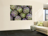 Artichokes for Sale at Market at Campo De&#39; Fiori Print by Richard l&#39;Anson