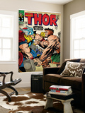 Marvel Comics Retro: The Mighty Thor Comic Book Cover 126, Hercules (aged) Prints