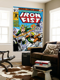 Iron Fist 14 Cover: Iron Fist and Sabretooth Posters by John Byrne