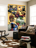 Marvel Adventures The Avengers No.14 Group: Captain America Prints by Leonard Kirk