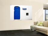 Blue Door in Old Town Poster von Pamela Valente