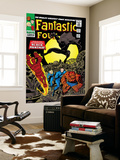 Fantastic Four No.52 Cover: Mr. Fantastic Posters by Jack Kirby