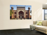 South Entrance to Taj Mahal Poster by Huw Jones
