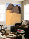 Meroe Pyramids in Sand Poster by Anthony Ham