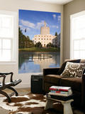 Reflection of Oregon State Capitol Building Print by Richard Cummins