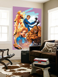 Marvel Age Fantastic Four 9 Cover: Mr. Fantastic Poster by Makoto Natsuki