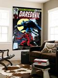Daredevil No.158 Cover: Daredevil and Death-Stalker Prints by Frank Miller