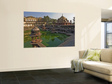 Vinai Villas Mahal (City Palace) with Tank and Chattris Print by Tim Makins