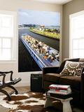 Cruise on River Spree Prints by David Peevers
