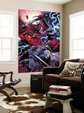 Thor No.8 Group: Odin, Surtur and Thor Print by Marko Djurdjevic