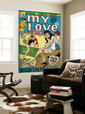 Marvel Comics Retro: My Love Comic Book Cover 16, Tennis, Pathos and Passion (aged) Affiches