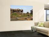Stilted Houses in Village on Tonle Sap Lake Poster by Ariadne Van Zandbergen