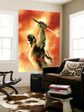 Drax The Destroyer No.3 Cover: Drax The Destroyer Fighting Prints by Mitchell Breitweiser
