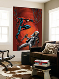 Ultimate Spider-Man No.88 Cover: Spider-Man and Silver Sable Prints by Mark Bagley