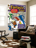 The Fantastic Four No.20 Cover: Mr. Fantastic Prints by Jack Kirby