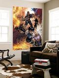 Avengers: The Initiative No.16 Group: Nick Fury, Phobos, Yo-Yo, Hellfire, Druid, Stonewall & Quake Prints by Stefano Caselli