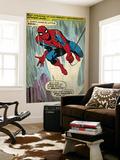 Retro Marvel-serier: serieruta från den fantastiske Spindelmannen (åldrad) Konst