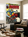 Daredevil No.161 Cover: Daredevil, Bullseye and Black Widow Posters by Frank Miller