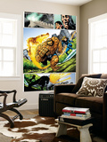 Marvel Adventures Fantastic Four No.5 Group: Invisible Woman, Thing and Human Torch Posters by Manuel Garcia