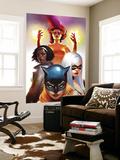 Marvel Divas No.2 Cover: Hellcat, Black Cat, Photon and Firestar Prints