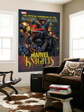 The Official Handbook Of The Marvel Universe: Marvel Knights 2005 Cover: Black Panther Poster by Pat Lee