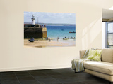 St. Ives Harbour in Summer Print by Doug McKinlay