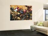 Ultimates No.3 Cover: Captain America Posters par Joe Madureira