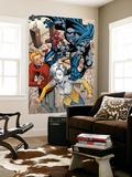 Marvel Adventures Spider-Man No.29 Group: Spider-Man, Grey Gargoyle, Flash Thompson and Liz Allen Prints by Pop Mhan